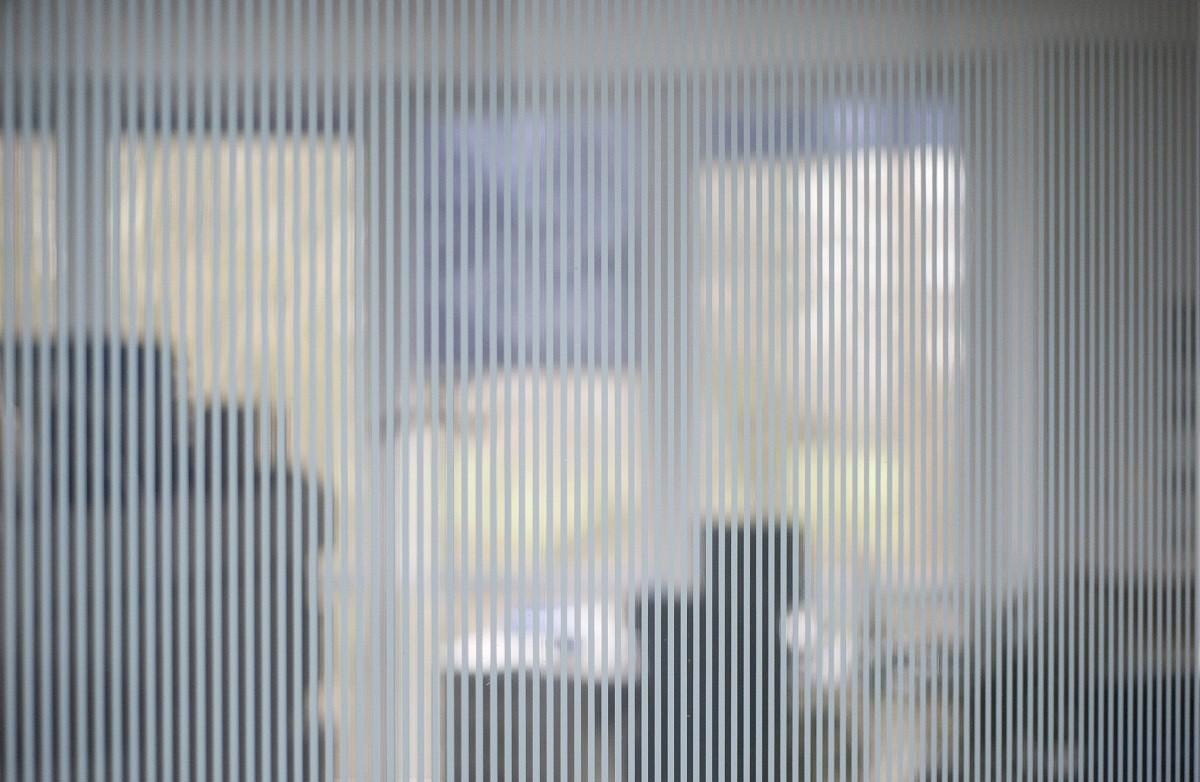 Dekofolie & Dekor OPALFILM Streifen weiß 10cm