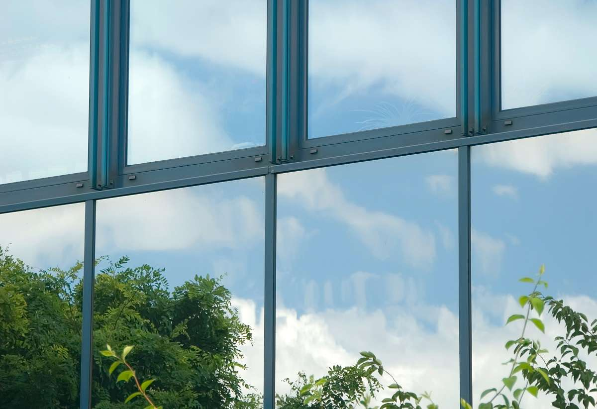 Wärmeschutzfolie Fenster Innen – Modernes Haus